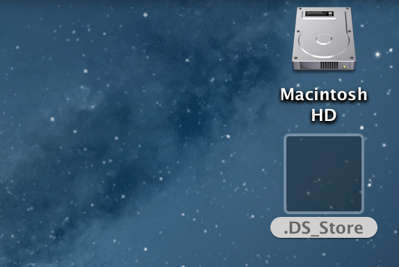 ds_store icon goes transparent
